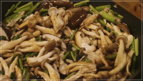 きのう何食べた?[9話]レシピ!きのことツナとかぶの葉の和風パスタ5