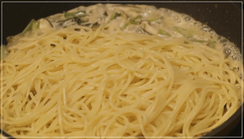きのう何食べた?[9話]レシピ!きのことツナとかぶの葉の和風パスタ7