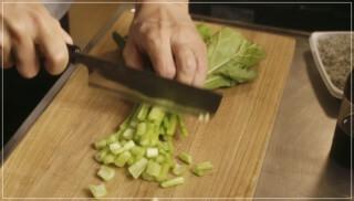 きのう何食べた12話(最終回)レシピ!かぶの葉とじゃこ炒めーシロさん実家