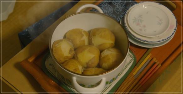 凪のお暇[2話] レシピ!おばあちゃんのじゃがバター・ホットポテト