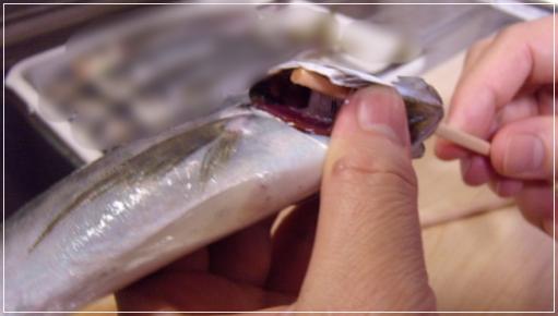 凪のお暇[3話]イワシのフリッターのレシピ!下ごしらえ・割り箸のワタ取り