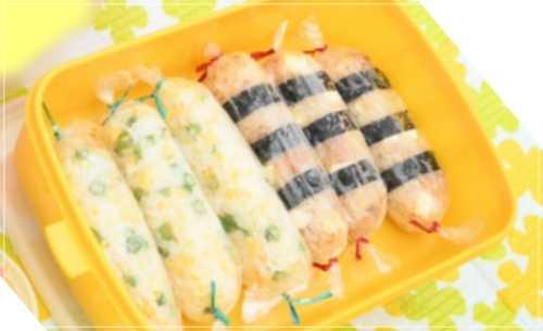凪のお暇[7話]レシピ!ぼにぎり(棒状おにぎり)いんげん・炒り卵・チーズ