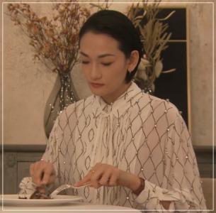 グランメゾン東京/冨永愛の衣装!ワンピースやバッグ・ベルトにピアス