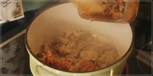 きのう何食べた?2020元旦スペシャル[レシピ]ジルベールのキムチチゲs22