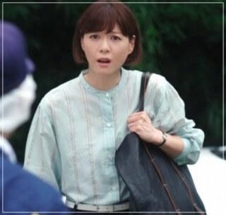 監察医朝顔2【3話】上野樹里の衣装!洋服やバッグにリュック!結婚指輪 5