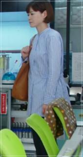 監察医朝顔2【4話】上野樹里の衣装!ブラウスやスカートにバッグuenojyuri_as412-1